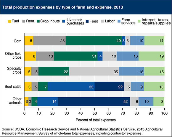 Production Expenses on Farm
